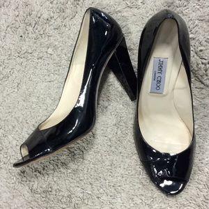 Jimmy Choo patent heels size 40.5